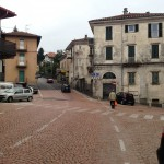 Mean streets of Luino, Italy
