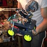 Davide's brother's robot