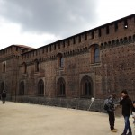 Castle in the heart of Milan