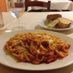 Pasta in Venice