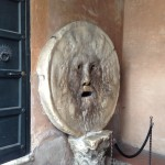 Mouth of Truth in Rome, it bites your hand off if you tell a lie