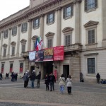 Leonardo da Vinci exhibit at the Royal Palace in Milan