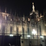Milan Cathedral after the Leonardo da Vinci exhibit