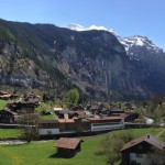 Beautiful day in Lauterbrunnen