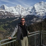 Russell and the Swiss Alps