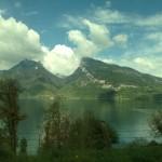 Train ride to Switzerland