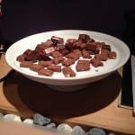 Free chocolates at the hotel in Lauterbrunnen, Switzerland