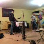 Cotton Club Blues Band practice
