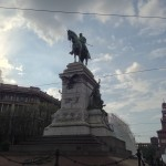 Statue in Miilan